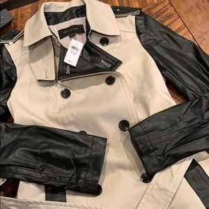 NWT fully lined trench coat Ann Taylor